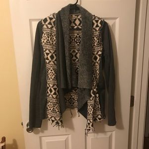 Francesca's Open Front Jacket/Cardigan